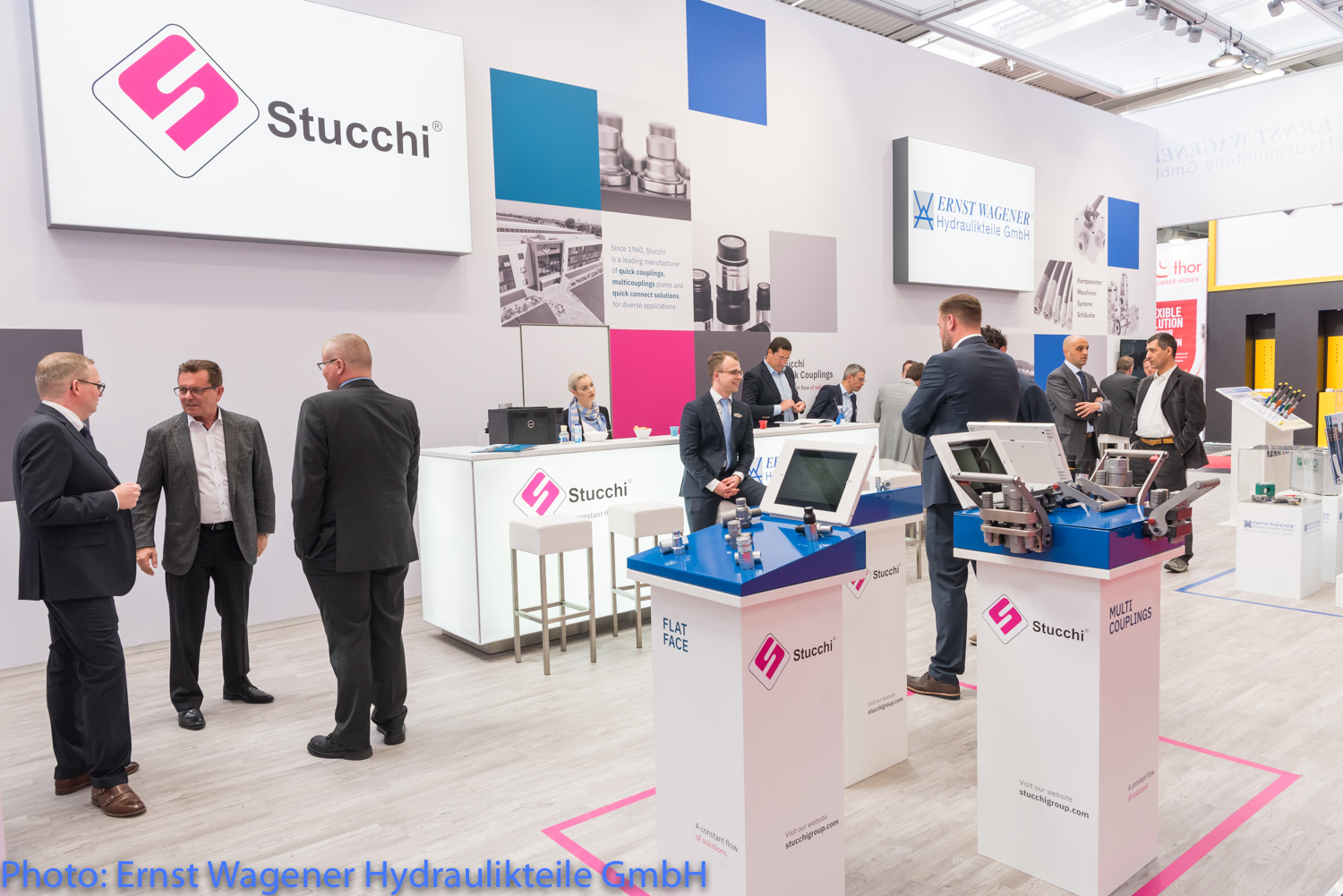 Stucchi Stand Hannover 2